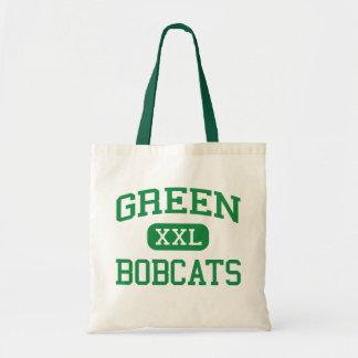 Green - Bobcats - High - Franklin Furnace Ohio Tote Bag