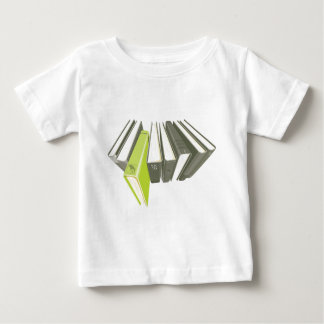 Green book outside of row baby T-Shirt