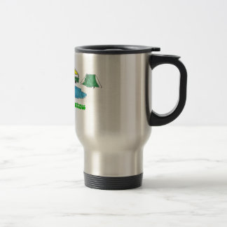 Green Bus Adventures Travel Mug