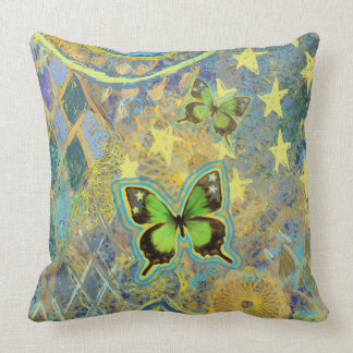 Green Butterfly Dream Pillow
