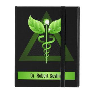 Green Caduceus Holistic Health iCase iPad Cases