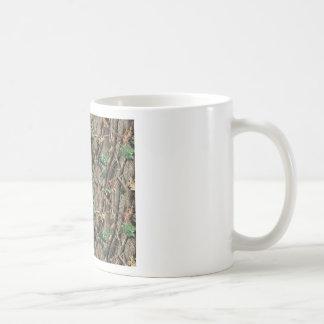 Green Camo Basic White Mug