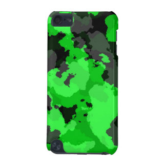 Green Camouflage iPod Touch Case