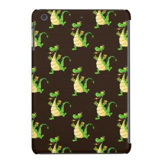 Green Cartoon Dragon Pattern iPad Mini Retina Case