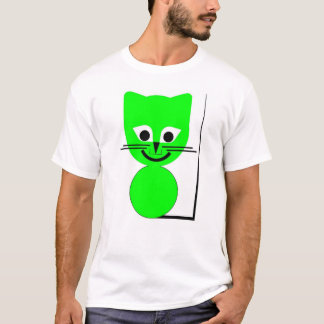 Green Cat T-Shirt