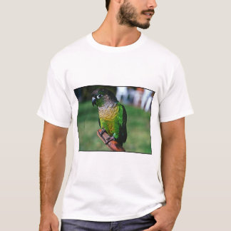 green check conure T-Shirt