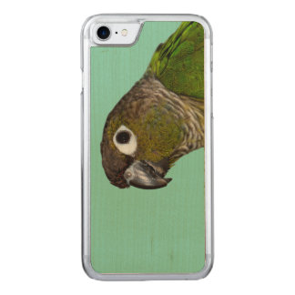 Green Cheeked Conure Carved iPhone 8/7 Case
