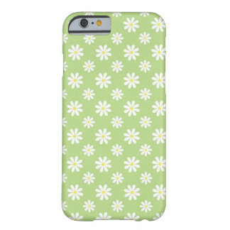Green Daisies Floral Pattern Barely There iPhone 6 Case
