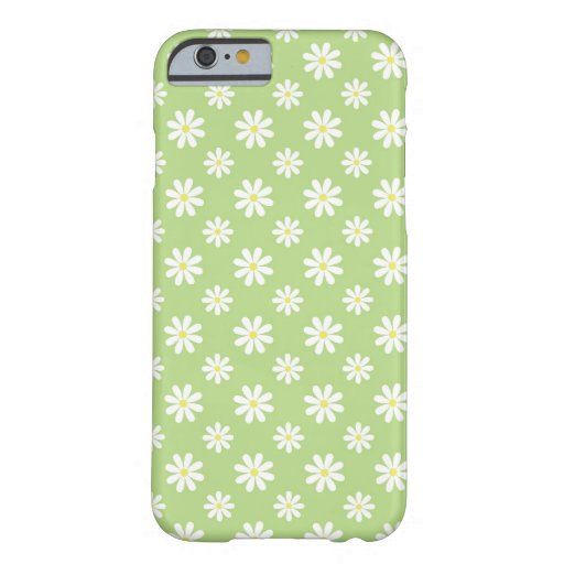 Green Daisies Floral Pattern iPhone 6 Case