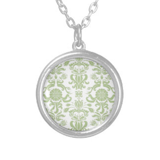 Green Damask Jewelry