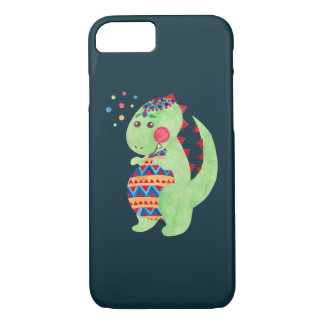 Green Dino iPhone 8/7 Case