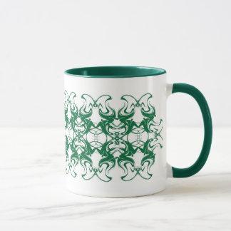 Green Distortions Mug