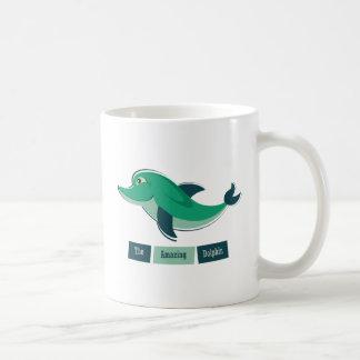 Green Dolphin Mug