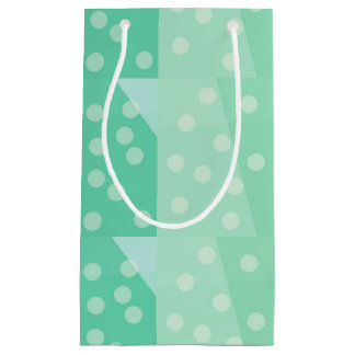 Green Dots and Spots Gift Bag