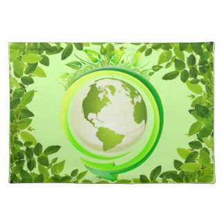 Green earth placemat