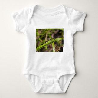 Green Eastern Pondhawk Dragonfly Baby Bodysuit