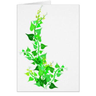 green eco vine card