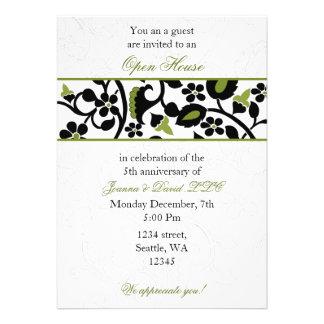 green Elegant Corporate party Invitation