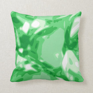 Green Emerald Gemstone / Jewel Pillow