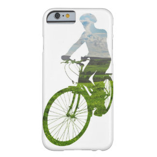 green, environmentally friendly transport barely there iPhone 6 case