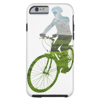 green, environmentally friendly transport tough iPhone 6 case