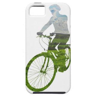 green, environmentally friendly transport iPhone 5 case