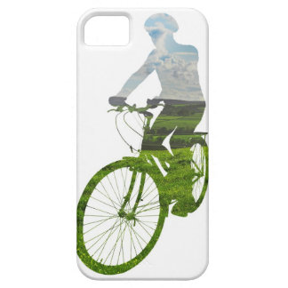 green, environmentally friendly transport iPhone 5 cover
