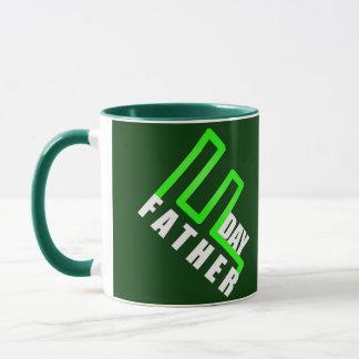 Green Fathers Day Mug