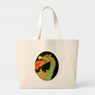 Green Fire Breathing Dragon Bag