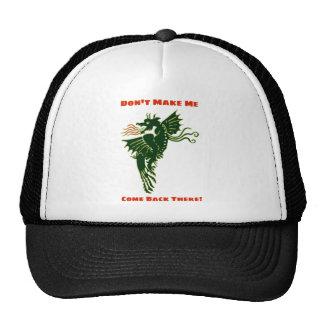 Green Fire Breathing Dragon - Don't Make Me Trucker Hat