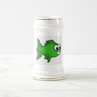 GREEN FISH BEER STEINS