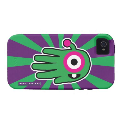 Green Friendly Alien Baby Tooth iPhone 4/4S Case