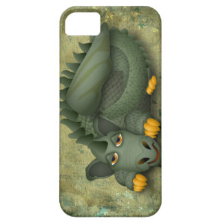 green friendly dragon iPhone 5 covers