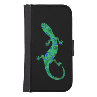 Green Gecko Samsung S4 Wallet Case