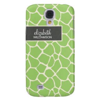 Green Giraffe Pern Galaxy S4 Case