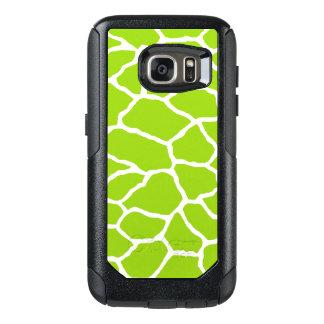 Green Giraffe Print OtterBox Galaxy S7 Case