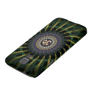 Green Gold  Swirl Om New Age Galaxy Nexus cover