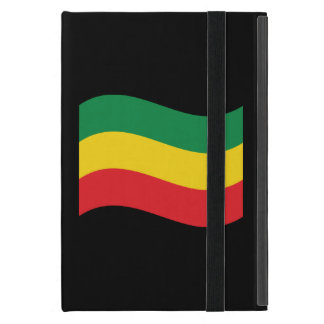 Green, Gold (Yellow) and Red Colors Flag iPad Mini Case
