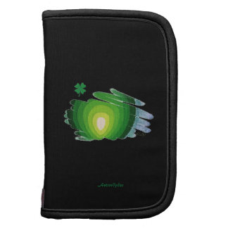 Green Heart Chakra Shamrock Folio Mini Planner