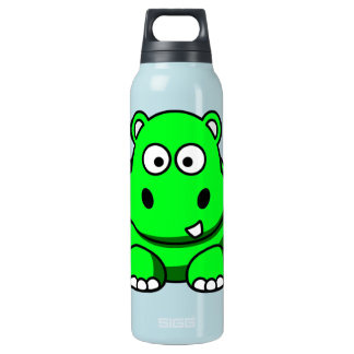 Green Hippo Insulated Water Bottle