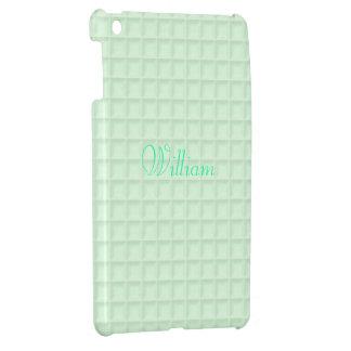 Green Honeycomb Fabric iPad Case Mini Template