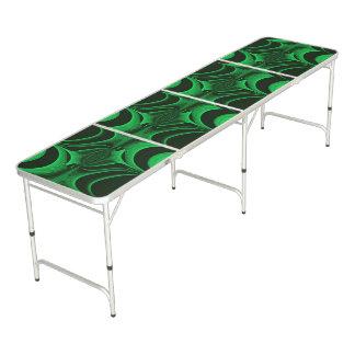 Green Hunter Fractal Beer Pong Table