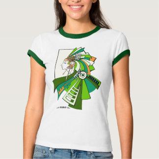 Green indian american inspiration T-Shirt