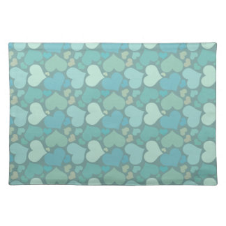 Green Individual Love Tablecloth Placemat