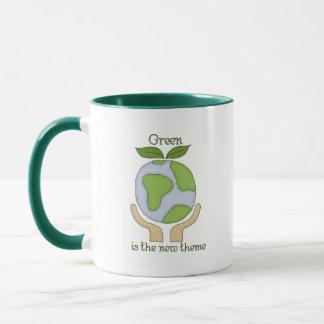 Green is the new Theme Mug