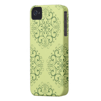 green java batik iphone4 barely iPhone 4 Case-Mate cases