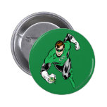 Green Lantern Fly Forward 6 Cm Round Badge
