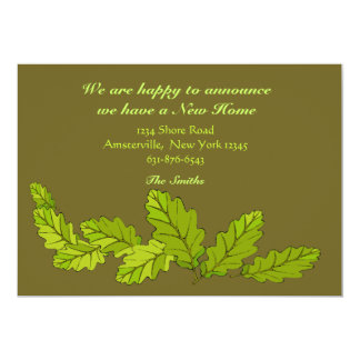 Green Leaves Moving Announcement