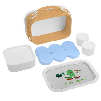 Green lunch box with UGI for every green child
