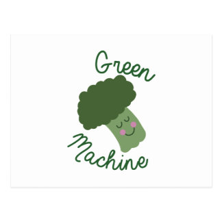 Green Machine Postcard